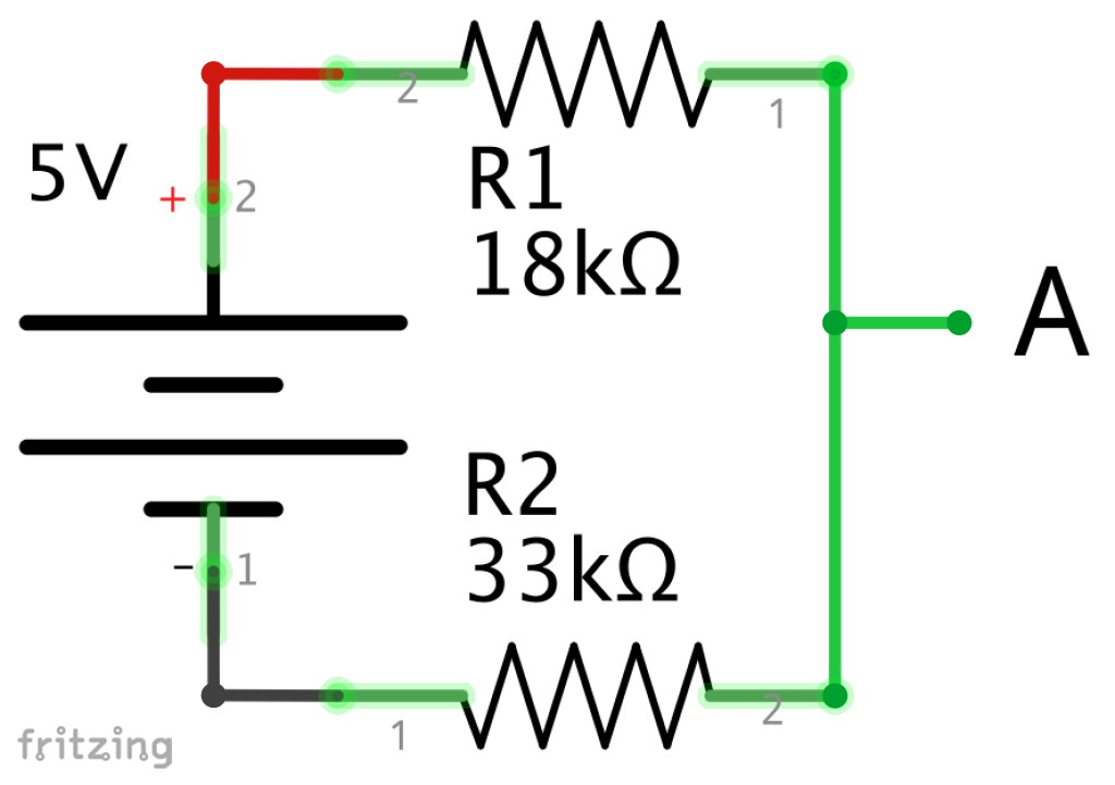 5V to 3.3V Schematic