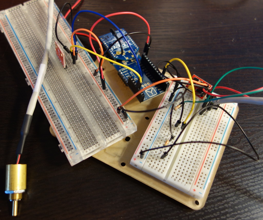 fio with breadboards